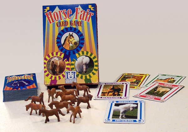 Horse Fair card game.